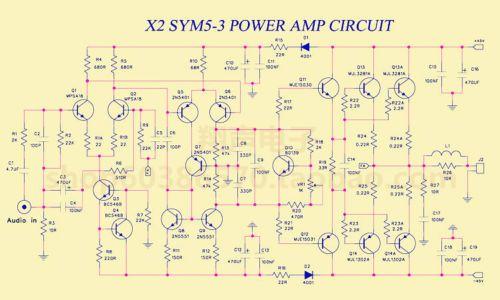 150W-Class-AB-Audio-Power-Amplifier-Board-PCB-AMP-based-on-Symasym5-3