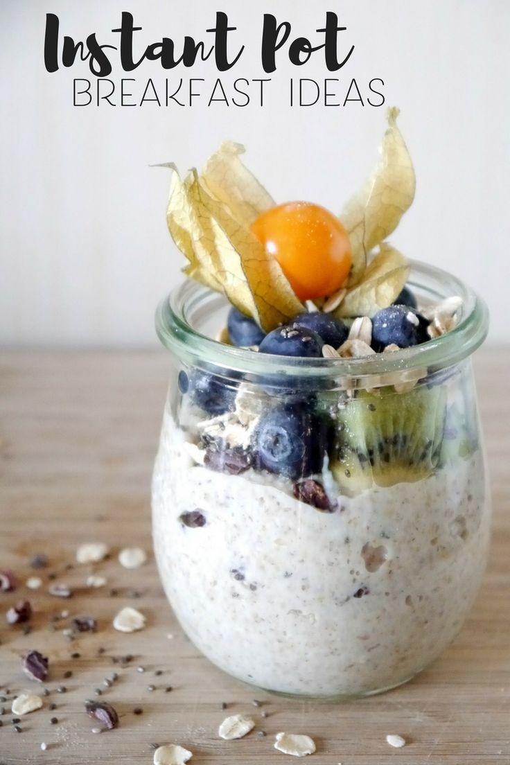 Instant Pot Breakfast Ideas - Chia Pudding