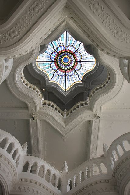 architecture, interior design, ceilings, Museum of Applied Arts - Budapest