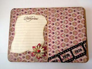 Obálkové minialbum | Pretty Papers - přáníčka, scrapbook, tvoření z papíru...