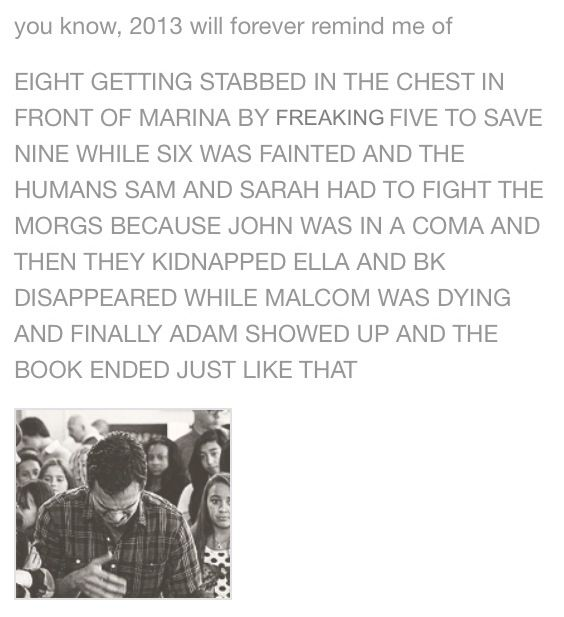 It was such a terrible ending but it makes me even more excited for the next book!!