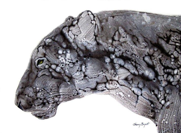 Jaguars. Spectacular Spirit Animal Prints by acclaimed animal artist Sherry Bryant.