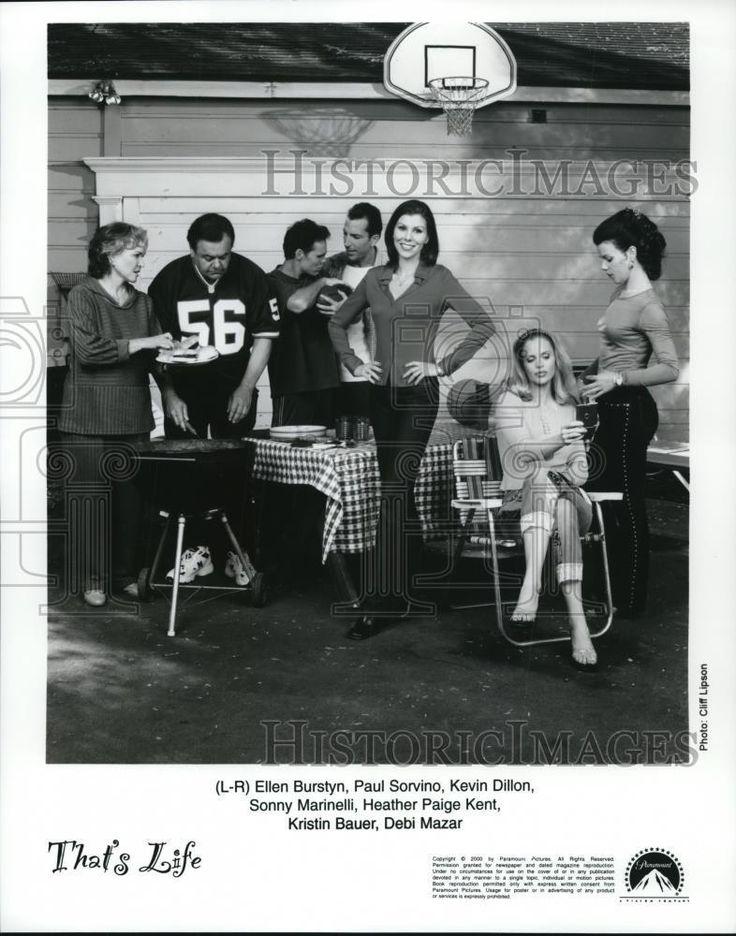2000 Press Photo Ellen Burstyn, Paul Sorvino and Kevin Dillon in That's Life.  | eBay