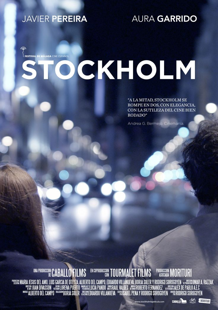 Stockholm (2013) Rodrigo Sorogoyen