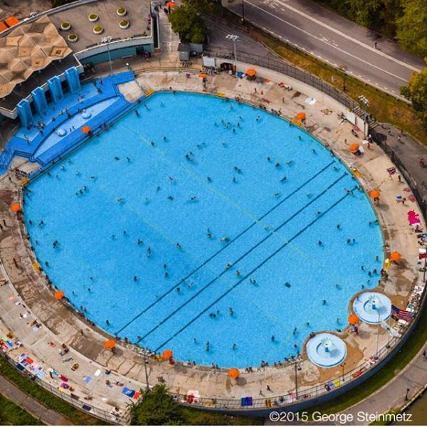 Cool Down In Central Park S Lasker Pool Things To Do In Central Park Pool Central Park Nyc With Kids