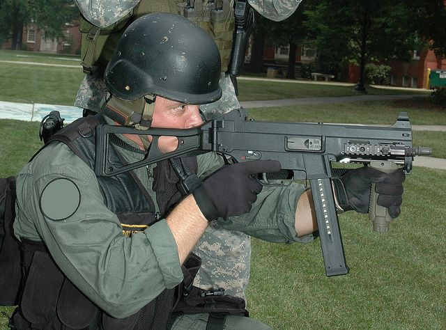 Not Content With Bullets, U.S. Dep't of Agriculture Now Buys Submachine Guns -- ..So why are civilian bureaucracies in the executive branch of the federal gov't arming themselves to the teeth with millions of rounds of bullets, battle rifles, assault weapons, and armored trucks? .. Two years ago, the USDA purchased 300,000 rounds of ammo. Now comes news that the USDA is graduating to submachine guns!  [...] 09/29