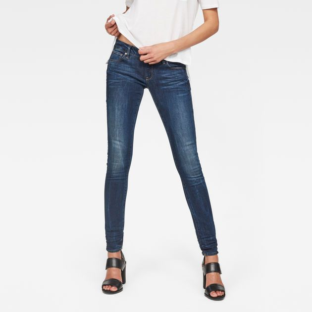 3301 Low Waist Skinny Jeans   Skinny jeans, Neutral jeans