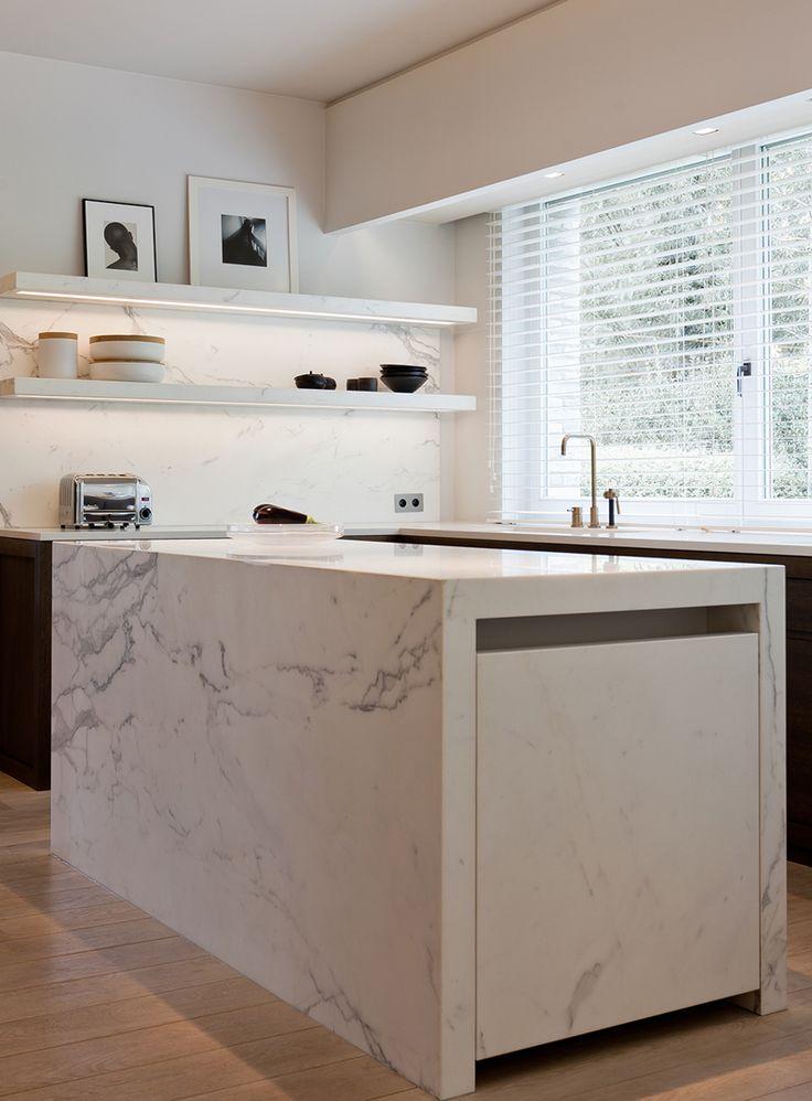 17 beste idee n over landelijke keuken ontwerpen op pinterest landelijke keukenkastjes - Hoe dicht een open keuken ...