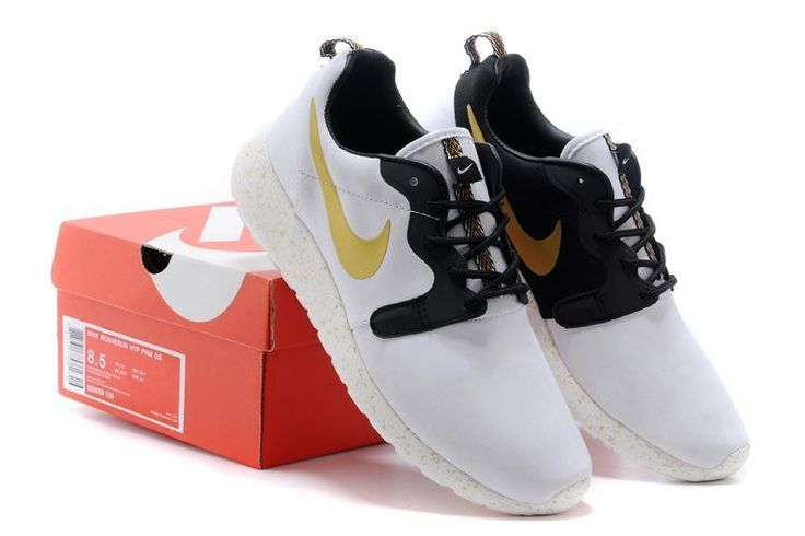 13c52069a0d2 cheap nike roshe white and gold b8019 0257b