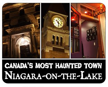 Fall is the best place to check out all of the spooky spaces around Niagara-on-the-Lake. Get your ghost walk booked!