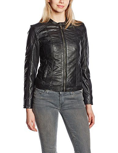 Cuir On Kings Femme En Longues Veste Earth Manches 6qwIwad
