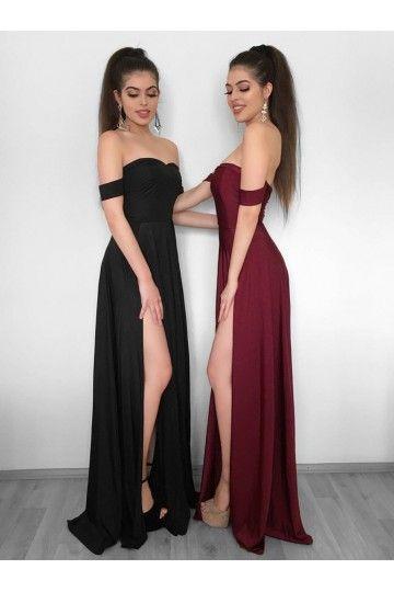 custom made fancy long sleeves prom dresses a line prom