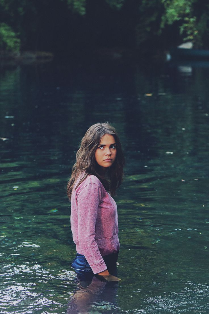 Venture out into the unknown. // The Fosters' Callie Jacob (Maia Mitchell) explores new horizons.