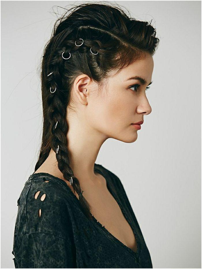 18++ Femme viking coiffure inspiration