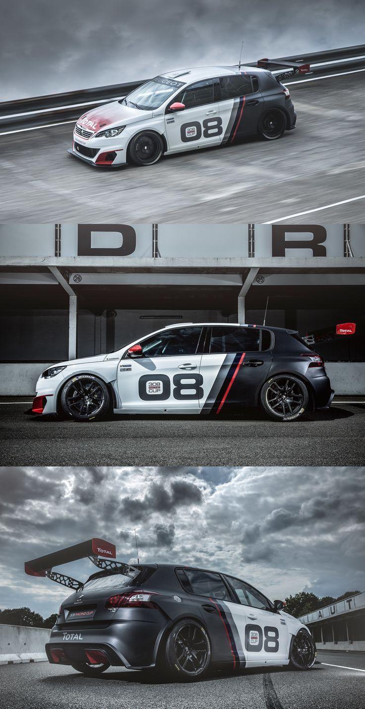 Lackierung Des Peugeot 308 Racing Cup In 2020 Fahrzeugfolierung