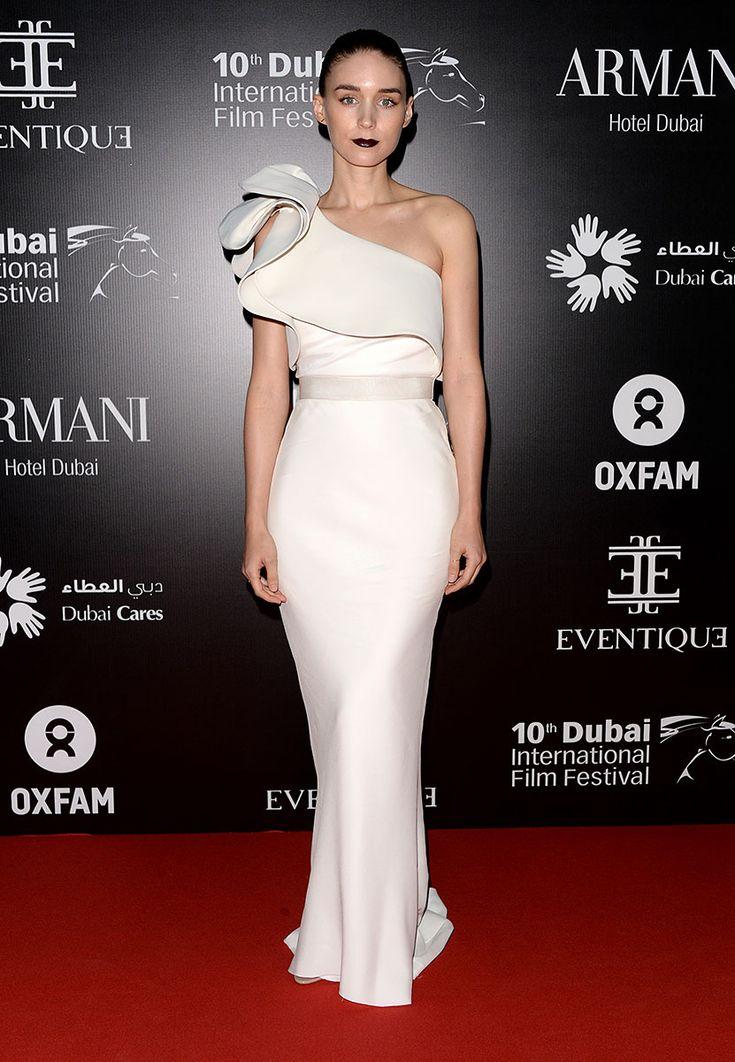 Rooney Mara en un look Resort 2014 de Lanvin, en la Gala de Oxfam durante el Festival Internacional de Cine de Dubái