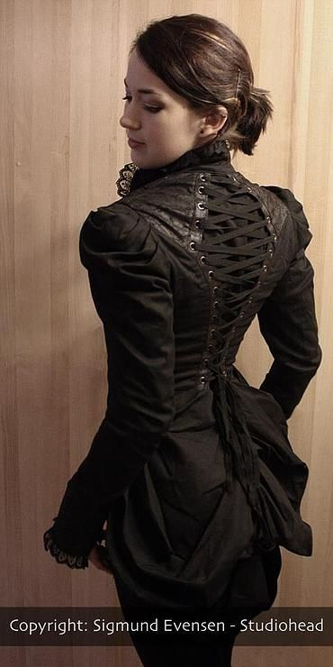 inspo for back of mother's dress in flashback