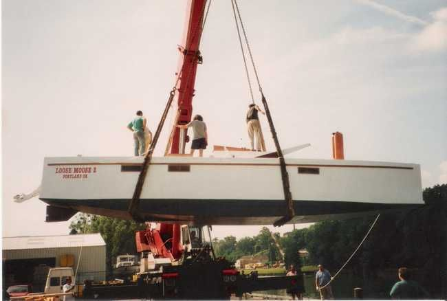Harold Payson Boat Plans : Phil bolger s loose moose ii yes its a box sailing