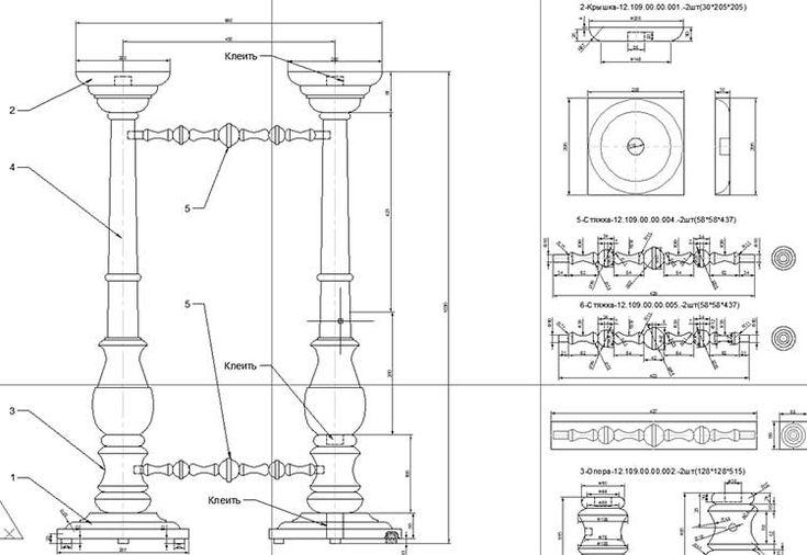 Чертежи , рисунки - Программы, модели для станков с ЧПУ