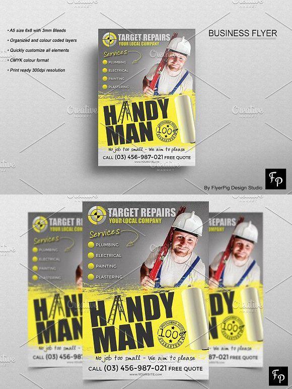 handyman flyer corporate flyer pinterest corporate flyer