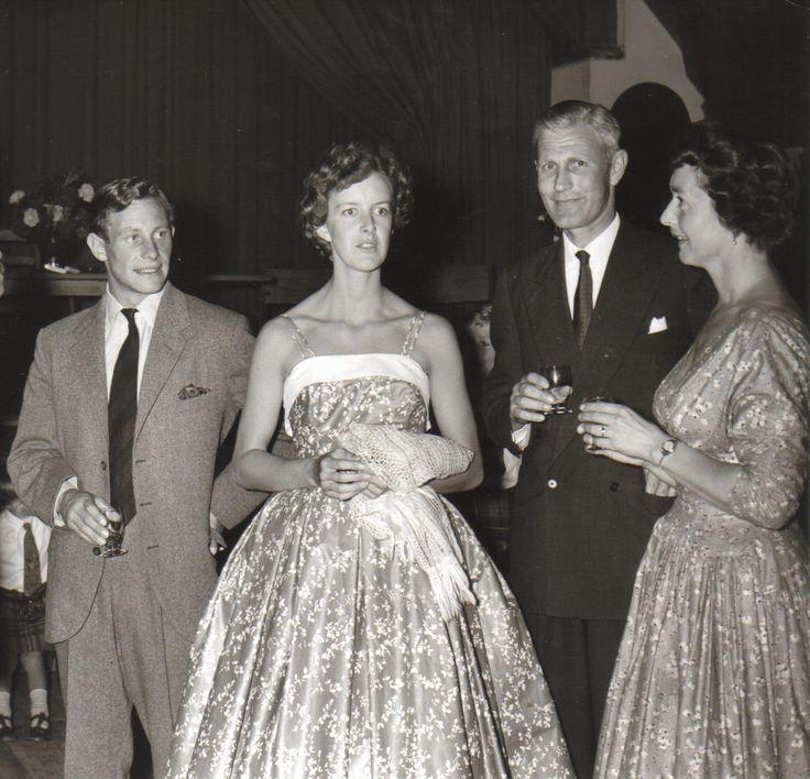 Claes & Penny, Gordon and Fiona, 1959