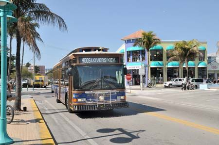 It's only $1.50 to ride all day on the beach trolley!  It's a great way to see Ft Myers Beach!