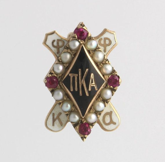 Pi Kappa Alpha Pin  10k Yellow Gold Genuine by WilsonBrothers, $139.99