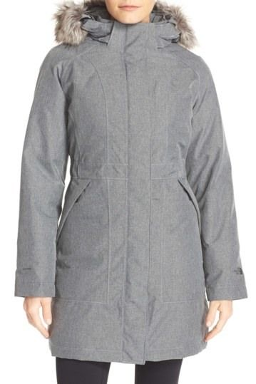 Image of The North Face Arctic Down Parka with Removable Faux Fur Trim Hood