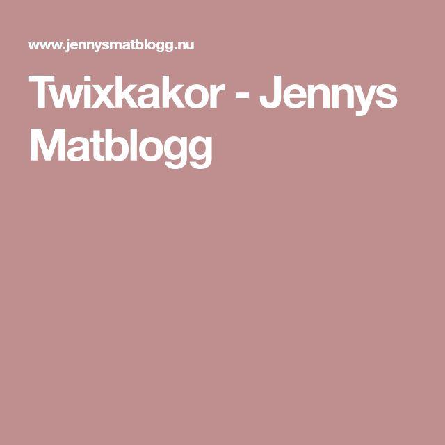Twixkakor - Jennys Matblogg