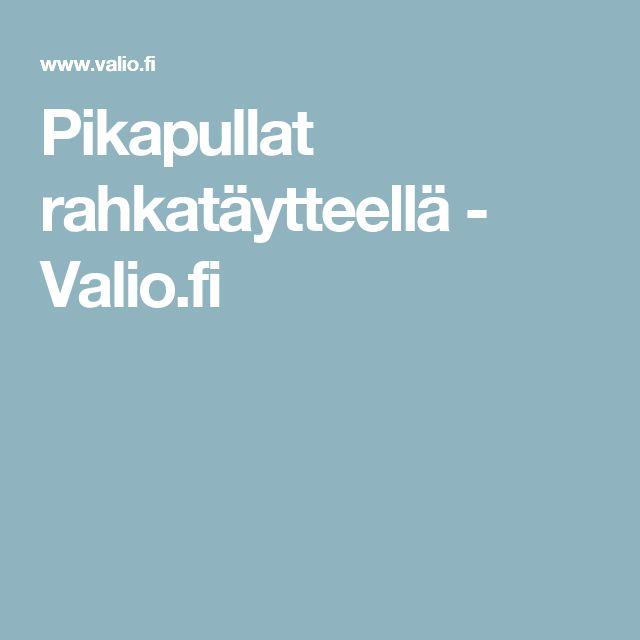 Pikapullat rahkatäytteellä - Valio.fi