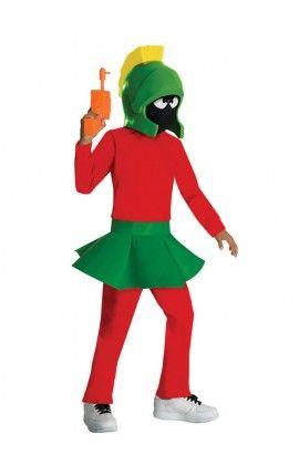 Disfraz de Marvin el marciano para niño