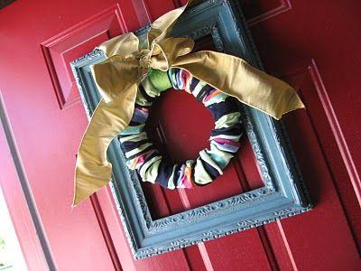 Sock wreath!!