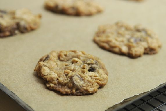 Crispy Oatmeal Chocolate Chip Cookies, a recipe on Food52