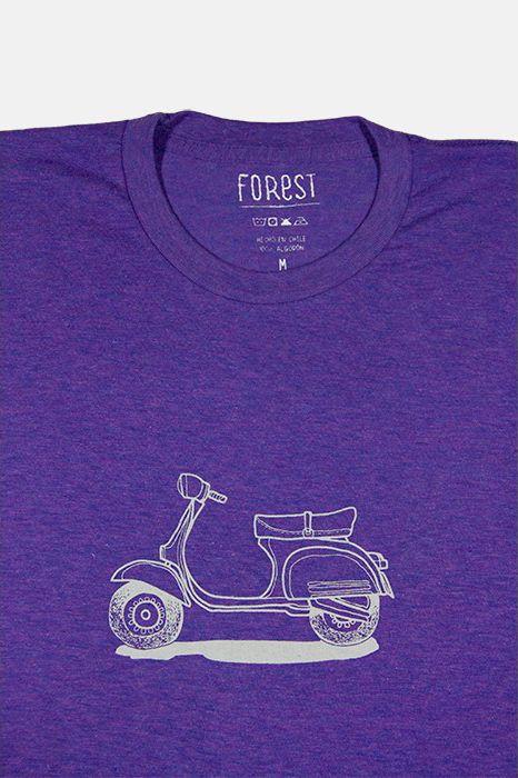 Vespa por Forest  http://followtheforest.com/poleras/212-camioneta-ford-1950-por-forest.html