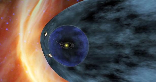Voyager 1, the man-made object farthest away from Earth, has sailed from Florida, out of Earth's orbit, beyond Mars, beyond the gas giants of Jupiter and Saturn, and may now have left the heliosphere -- the tiny dot in the universe beholden to our sun.