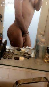 skinny lady bald pussy