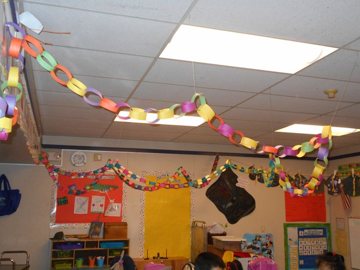 We changed up our behavior system towards the end of the year and created The Rings of Awesomeness. The chain grew by students displaying teamwork, cooperation and excellent comunication skills when solving conflicts or working through a task. We draped the rings throughout the classroom and it became exciting to see the rings grow! The reward was a celebration day! @motorpunxmo