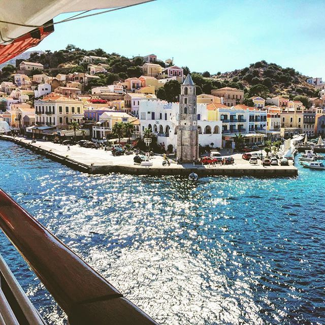 Looking for something extraordinary?  Symi is your island! Its unique beauty will make your vacation so very special!  Learn more!  Photo by @liverly_liv #Celestyalcruises #Symi #Greece #island #beauty #travel #sea #sun #summer