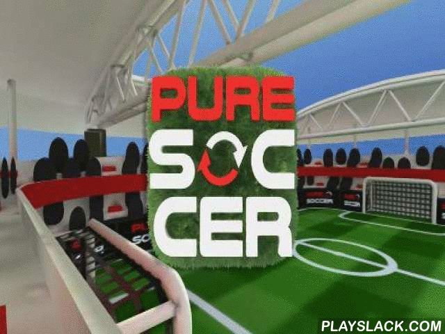 Pure Soccer  Android Game - playslack.com , compete mini-soccer on disparate playgrounds. Control your team of 2 players and prevail sorb tournaments. appoint your popular soccer team and govern it to success competing  matches in this game for Android. Control your players on the tract. Use smart maneuvers and trickeries to overcome the defense and attain goals. safeguard your gate from the foe assaults. Practice, compete friendly matches and take part in the soccer championship. Become the…