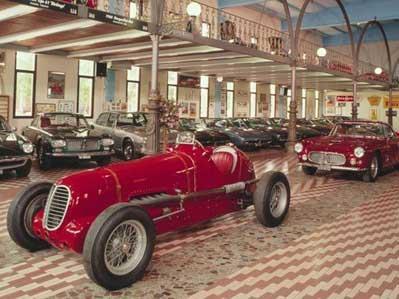 MUSEO MASERATI DI UMBERTO PANINI  Via Corletto Sud, 320 - Modena - 18,5 km dall'hotel