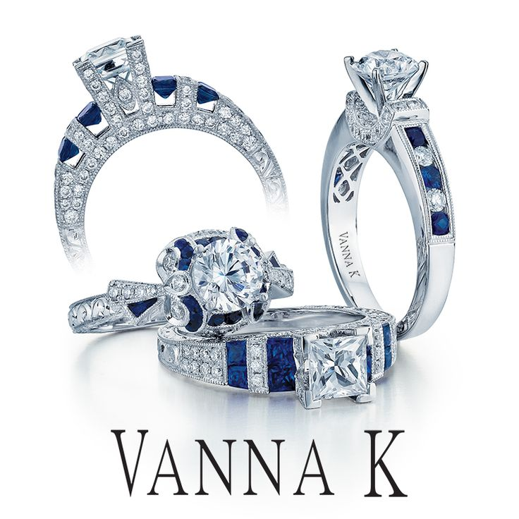 Jewelry that makes you feel like Royalty.  #VannaK  #unique #jewelry #diamonds #engagement #weddings #vintage