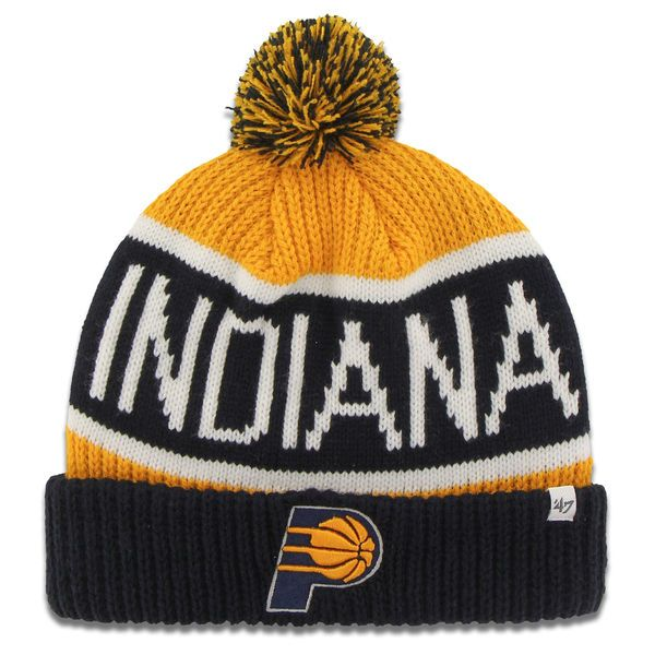Men's Indiana Pacers '47 Gold Calgary Cuffed Knit Hat, Your Price: $19.99
