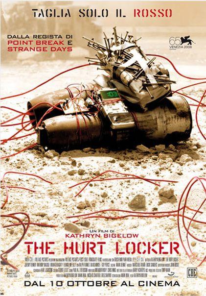 Un racconto solido, tra coraggio e alienazione, su quell'immmenso contenitore di alibi che è la guerra http://www.mymovies.it/film/2008/thehurtlocker/
