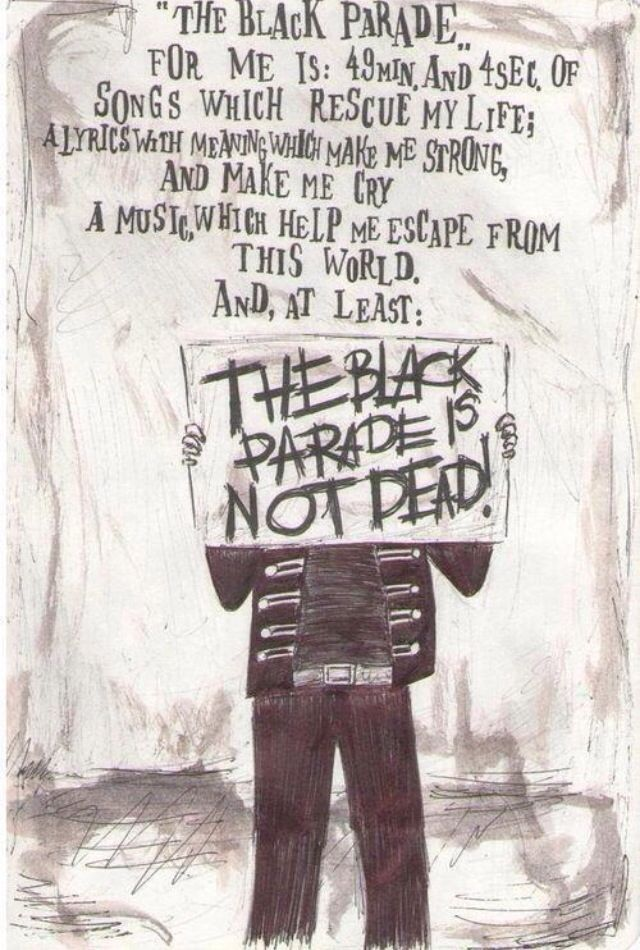 My Chemical Romance - The Black Parade Is Not Dead KILLJOYS NEVER DIE.