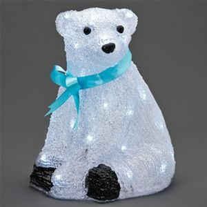 Konstsmide 6123-203 Small LED Polar Bear