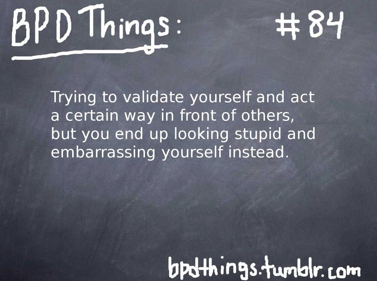 BPD Things - Every damn time.