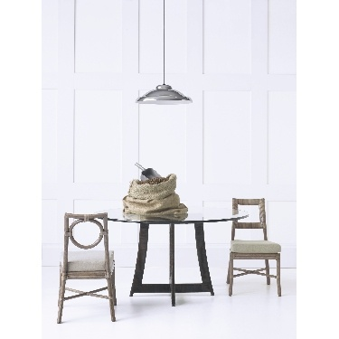 Thomas Pheasant Round Back Side Chair: M-313