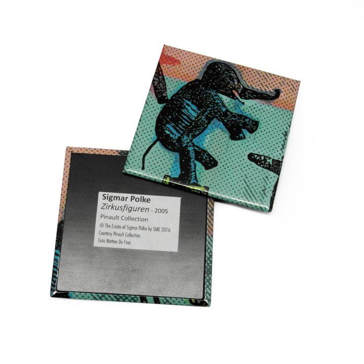 Custom #magnet created for Sigmar Polke's #artexhibition #museum #merchandising