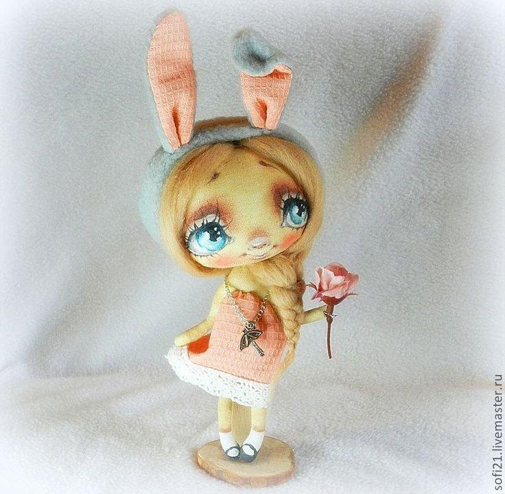 Купить Зоенька... - кукла, интерьерная кукла, авторская кукла, текстильная кукла, кукла в подарок, разные