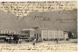 St Stephen's Church and the Old Slave Market Cape Town, vintage postcard